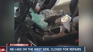 Northbound I-465 will remain closed for repairs after bridge crash - Video