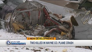 2 people killed in small plane crash in Wayne County identified