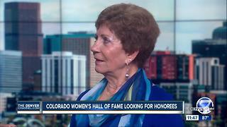 Colorado Women's Hall of Fame - Video