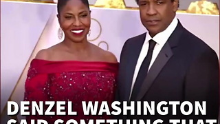 Denzel Takes Fire After Telling Black Americans to Stop Blaming the System for Problems - Video
