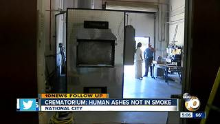 Crematorium: No human ashes in smoke accident - Video