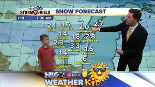 Meet Joseph Donati, our NBC26 Weather Kid of the Week! - Video