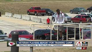 Veterans report to Chiefs Training Camp