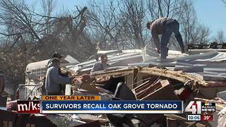 Oak Grove still in recovery one year later - Video