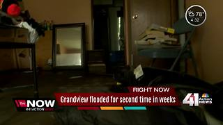 Grandview flooded for second time in just weeks - Video