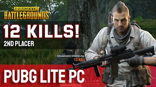 12 Kills! PUBG Lite PC - Let's Play Episode 3