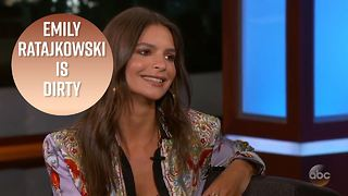 Kimmel disgusted by Emily Ratajkowski's lack of hygiene - Video