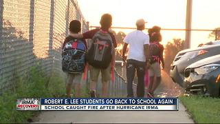 Robert E. Lee students go back to school again - Video