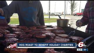 Hog roast to benefit holiday charities in Franklin - Video