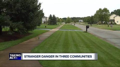 Stranger Danger in three communities