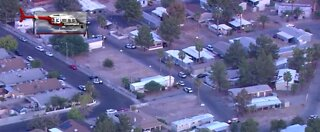 Police activity at mobile home park | Breaking news
