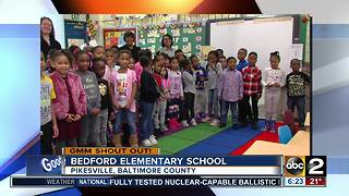 Good morning from students at Bedford Elementary School - Video