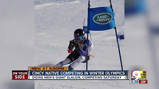 Cincinnati native competes in Winter Olympics