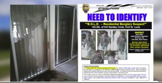 Police investigating several break-ins across Treasure Coast