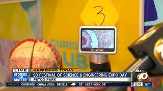 Expo Day kicks off Festival of Science and Engineering - Video