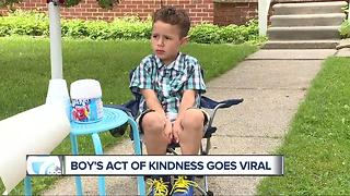 Mailman leaves $20, note for boy who gave him free Kool-Aid - Video