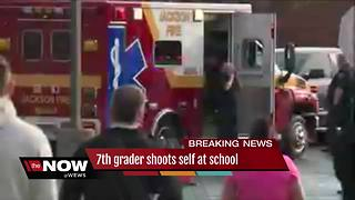 Police find 'distractionary-type' devices in backpack of 7th-grader who shot self at Jackson school