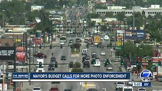 Denver mayor's budget includes more money for photo enforcement on roads - Video