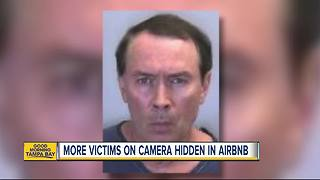 More victims come forward after man hid camera in AirBnB - Video
