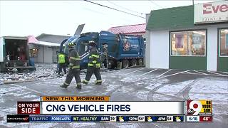 CNG Vehicle fires - Video