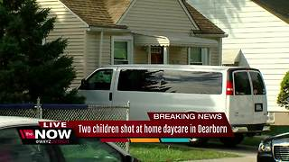 Two children shot at Dearborn home daycare in critical condition - Video