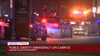 Public safety emergency on SVSU campus