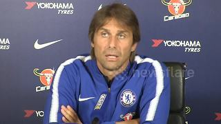 Conte 'surprised' by Hazard's Belgium call-up - Video