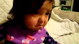 Baby Girl Gets Emotional Tears To Andrea Bocelli Song