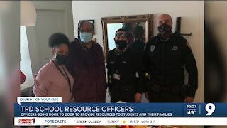 TPD SROs continue serving students and their families amid pandemic