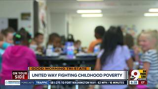 United Way announces ambitious goals to end child poverty in Cincinnati - Video