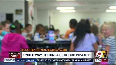 United Way announces ambitious goals to end child poverty in Cincinnati