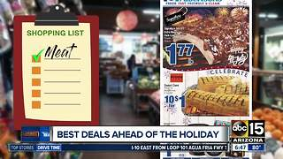 Best grocery deals ahead of July 4th holiday - Video