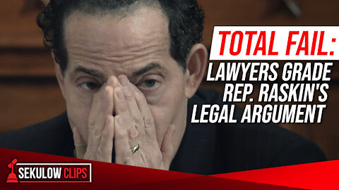 TOTAL FAIL: Lawyers Grade Lead Impeachment Manager Rep. Raskin's Legal Argument