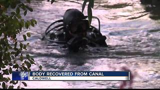 Body recovered from Caldwell canal - Video