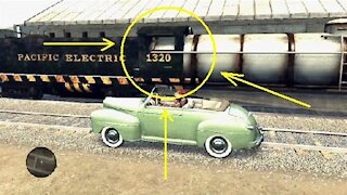 L.A. Noire - Strange glitch with a train #2