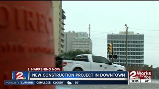 Street rehabilitation project starts in downtown Tulsa