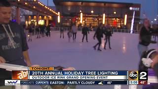 White Marsh holds 20th annual tree-lighting, grand opening of new ice rink