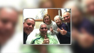 Michigan man celebrates 1-year anniversary of liver transplant from brother-in-law