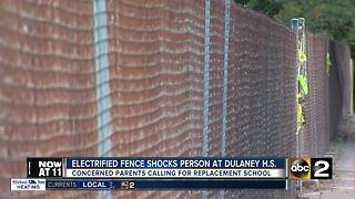 Electrified fence repaired at Dulaney High School - Video