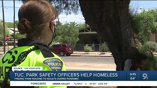 Tucson Park Safety Officers help homeless get housing through COVID-19
