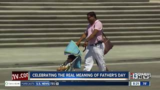 Celebrating the real meaning of Father's Day - Video
