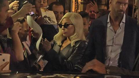 Lady Gaga Stuns While Leaving Her London Hotel, Super Gracious To Fans!