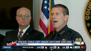 Van driver facing charges after child dies - Video