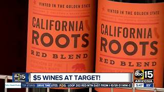 Target unveils $5 wines - Video