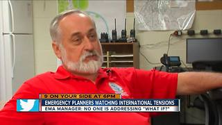 Emergency planners watch intensifying North Korean tension - Video