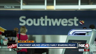Southwest Airlines updates Family Boarding policy