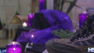 Candlelight vigil and prayer service to raise awareness of homelessness - Video