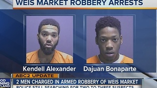 2 men charged in Howard County grocery store robbery - Video