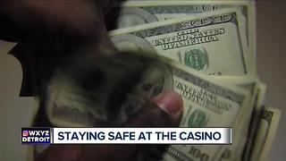 Staying safe at the casino - Video