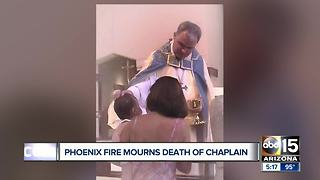 Phoenix Fire Department chaplain dies - Video